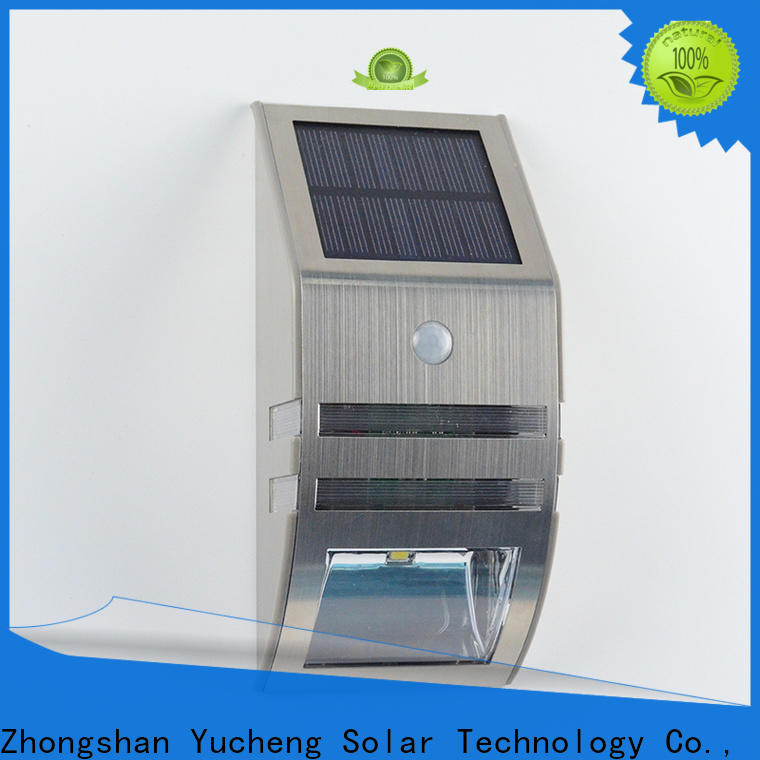 top solar garage lights supplier for stair