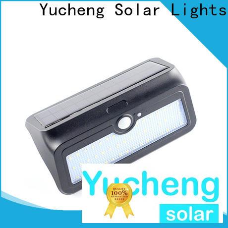 Yucheng high-quality solar garage lights supplier for garden