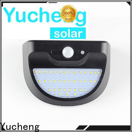 Yucheng best solar powered security lights supplier for garden