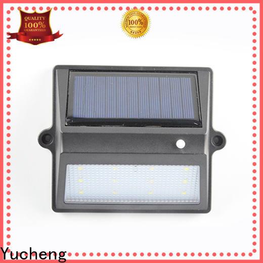 Yucheng solar fence lights manufacturer for outdoor