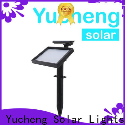 Yucheng outdoor solar spot lights factory direct supply for home