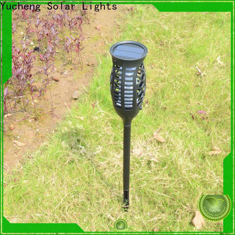 Yucheng solar garden lanterns manufacturer for park