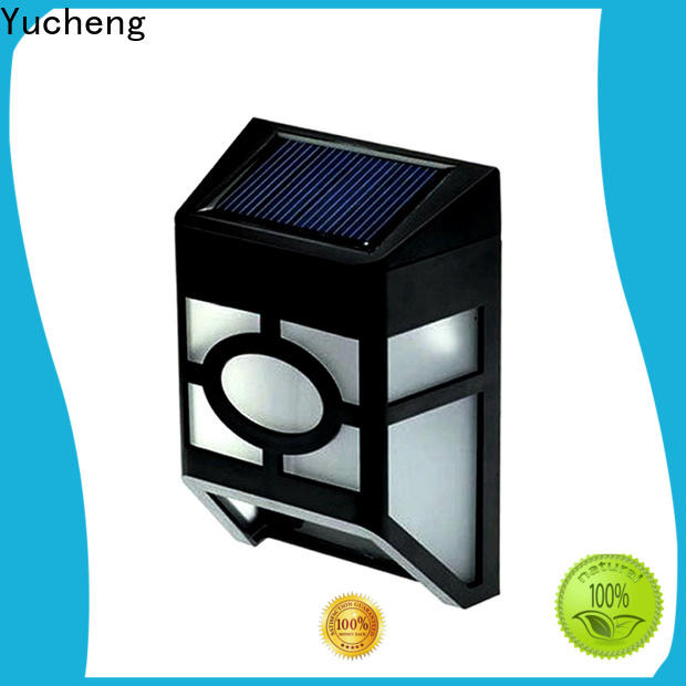 top solar garden fence lights manufacturer for garden