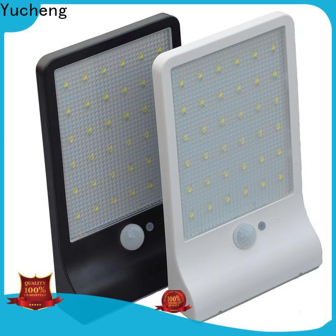 Yucheng outdoor solar wall lights customized for garden