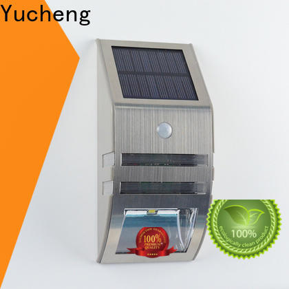 Yucheng solar powered led lights outdoor factory direct supply for pathway