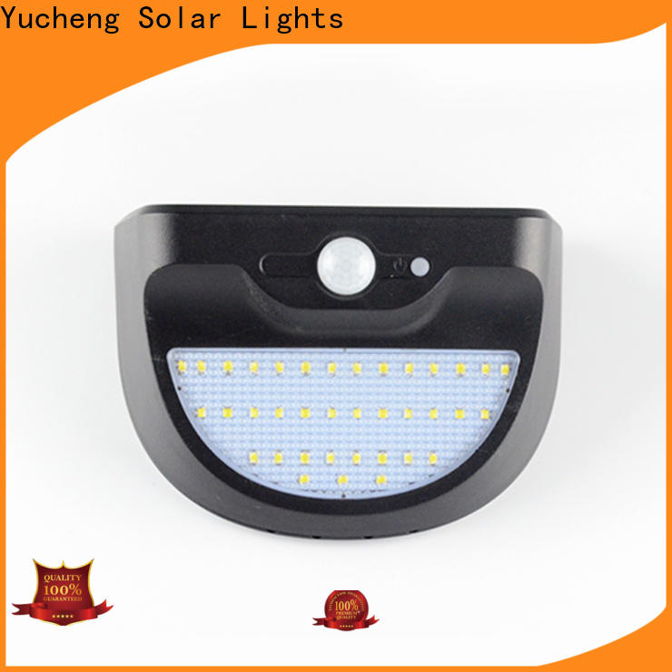 custom solar sensor wall light factory direct supply for stair