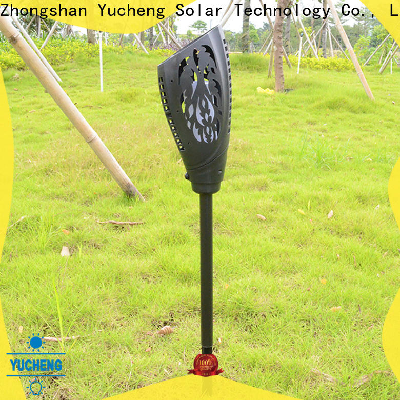 Yucheng solar garden lanterns manufacturer for courtyards