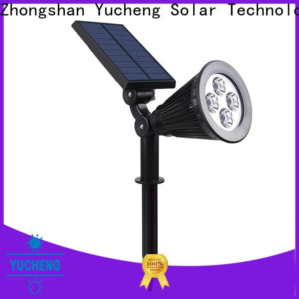 custom solar spotlights factory direct supply for park
