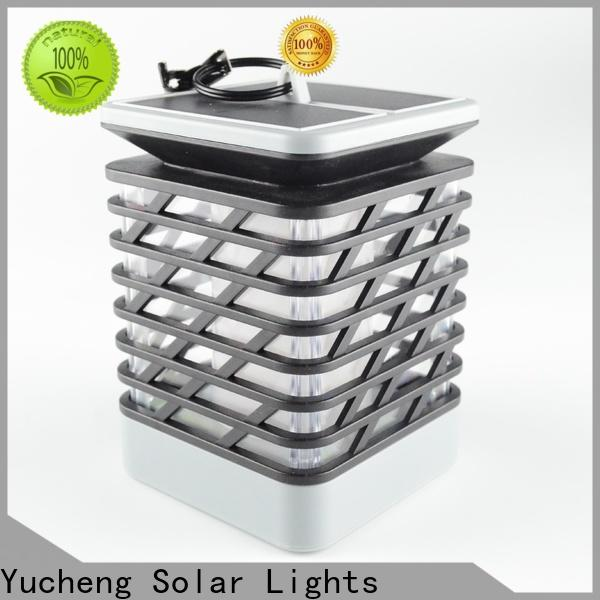 Yucheng new solar garden lanterns factory direct supply for garden