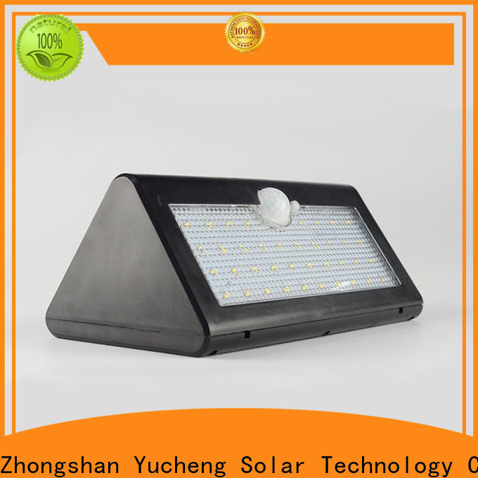 Yucheng high-quality solar led lights outdoor customized for docks
