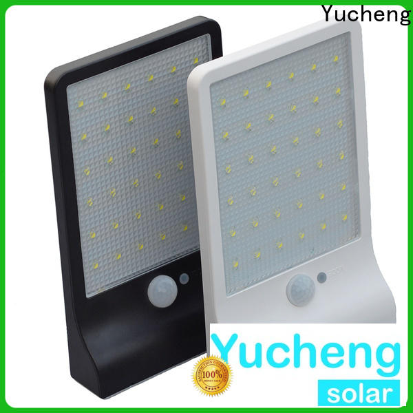 Yucheng solar wall sconce manufacturer for pathway