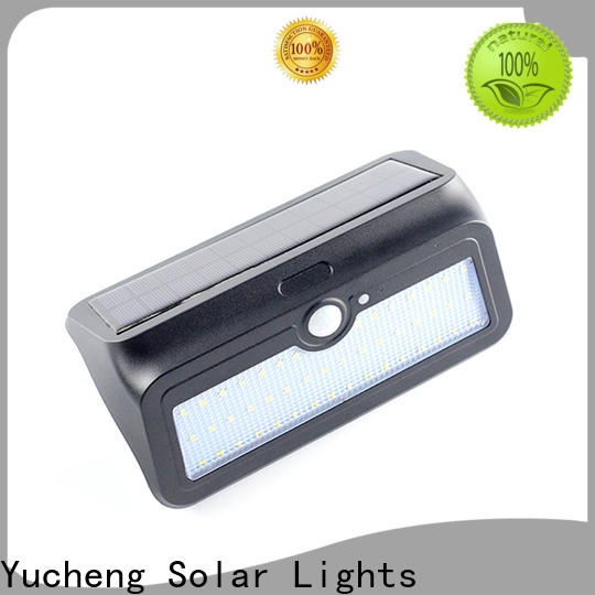 custom solar wall sconce with good price for docks
