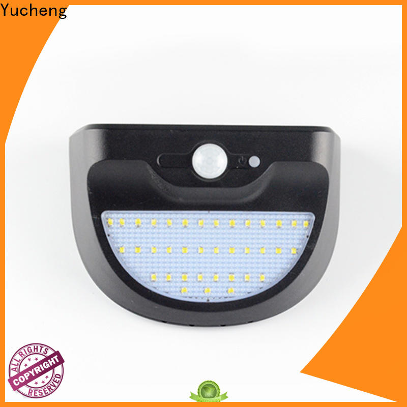Yucheng solar led lights outdoor series for pathway