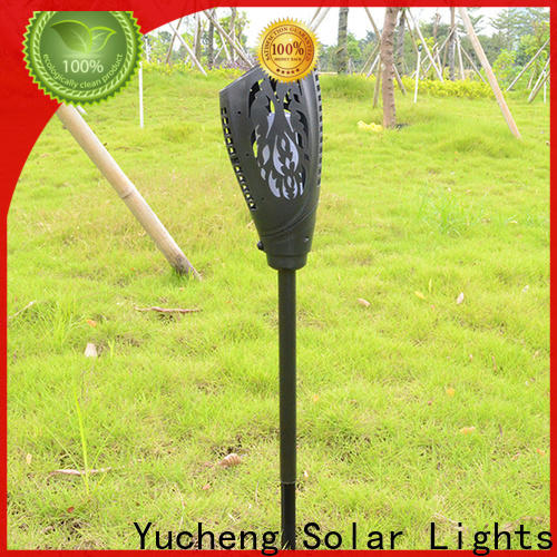Yucheng best solar flame torch supplier for home