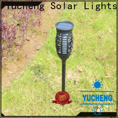 new solar flame light factory direct supply for garden