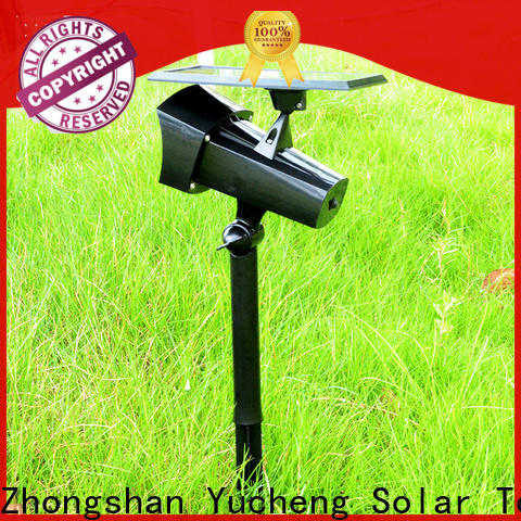 Yucheng solar lawn lights customized for home