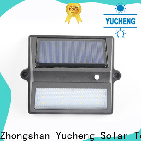 Yucheng solar fence lights supplier for outdoor