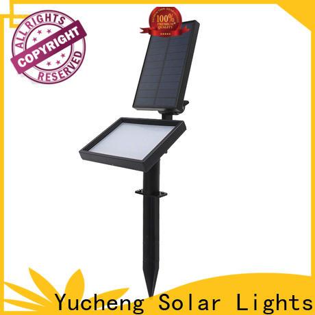 top solar led garden lights series for park