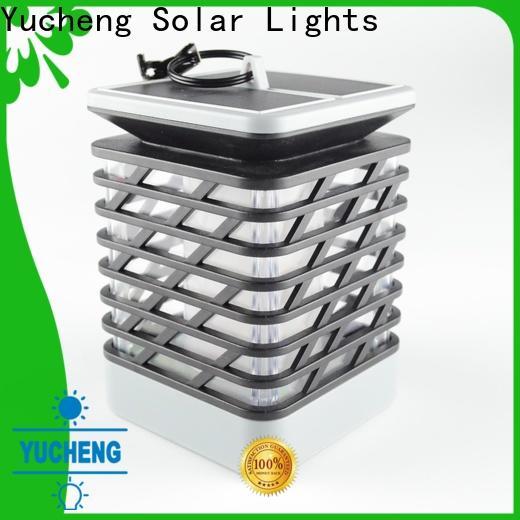 Yucheng solar garden lanterns factory direct supply for garden