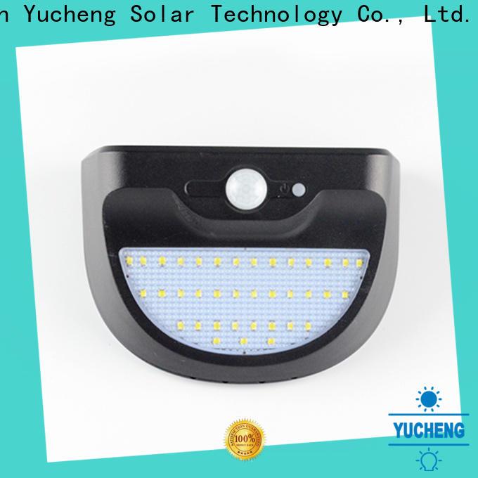 Yucheng solar garage lights manufacturer for docks