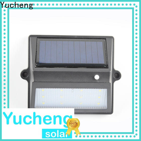 Yucheng outdoor fence lighting factory price for outdoor