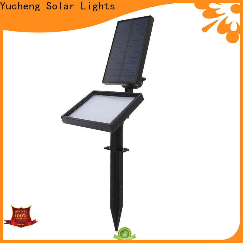 Yucheng custom solar led garden lights supplier for park