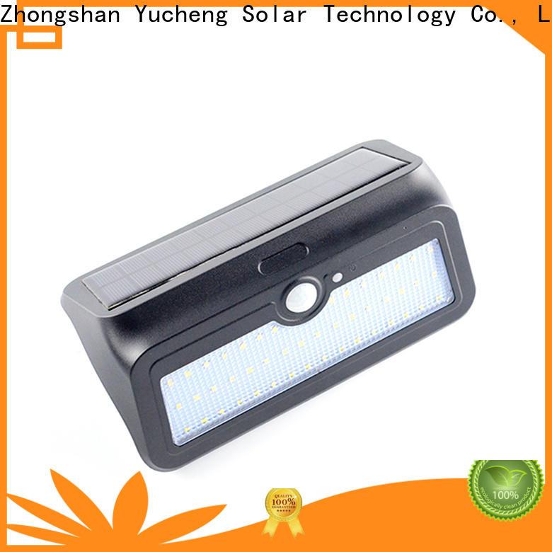 wholesale solar powered sensor light customized for docks