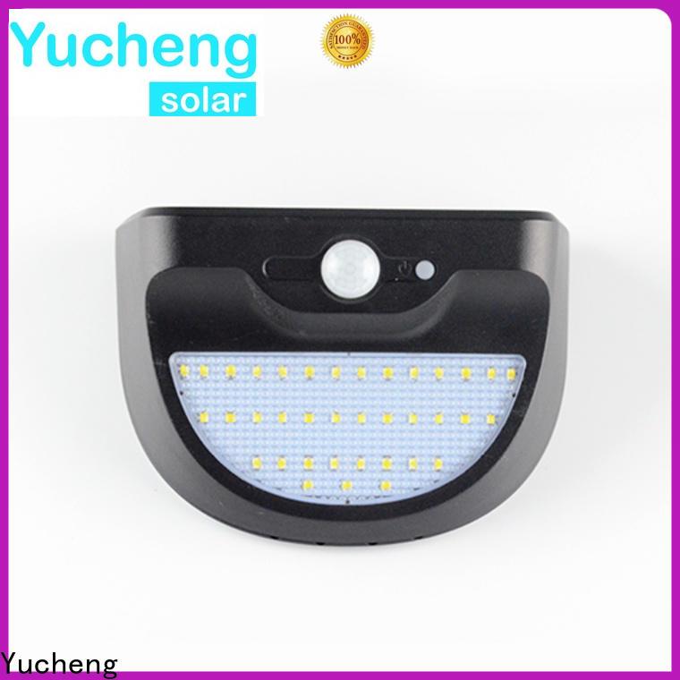 Yucheng solar garage lights series for garden