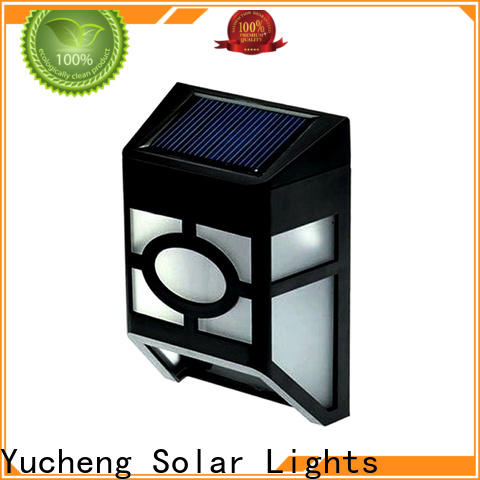 Yucheng solar fence lights factory price for park