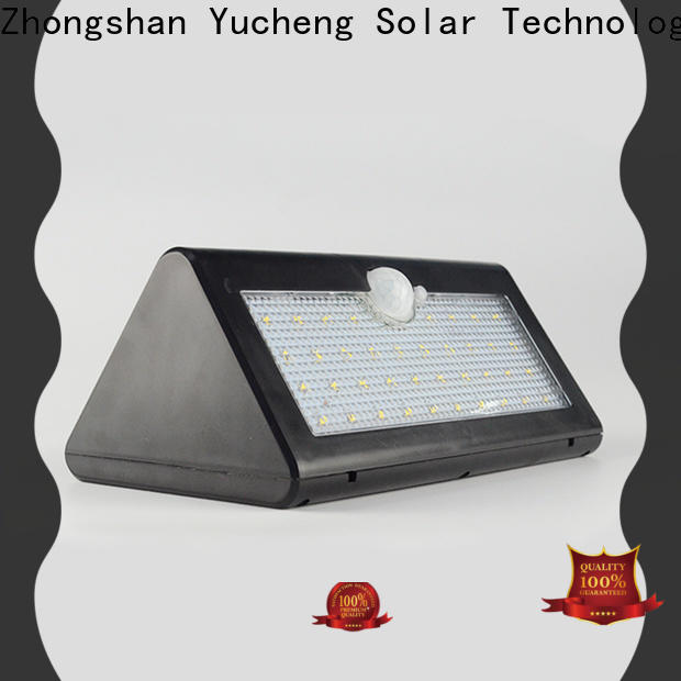 Yucheng solar powered led lights outdoor series for docks