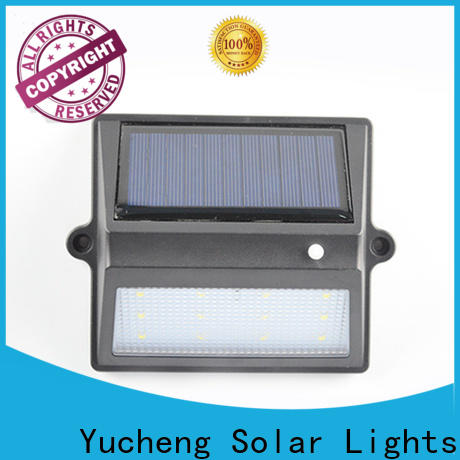 Yucheng outdoor fence lighting supplier for home