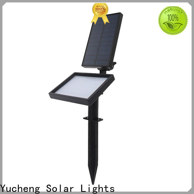 Yucheng solar spotlight supplier for home