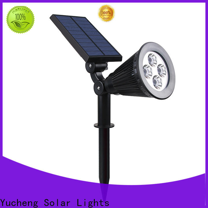 Yucheng new solar led garden lights supplier for garden