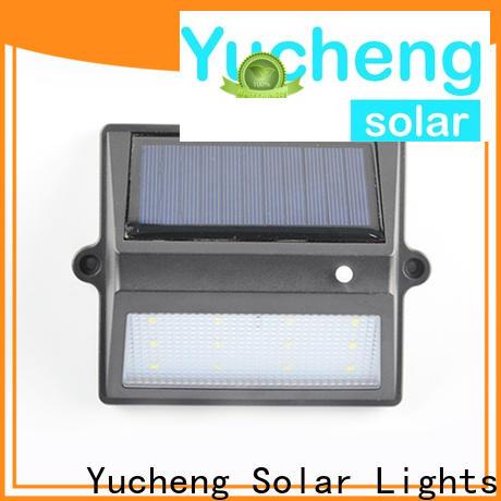 custom solar fence lights with good price for garden