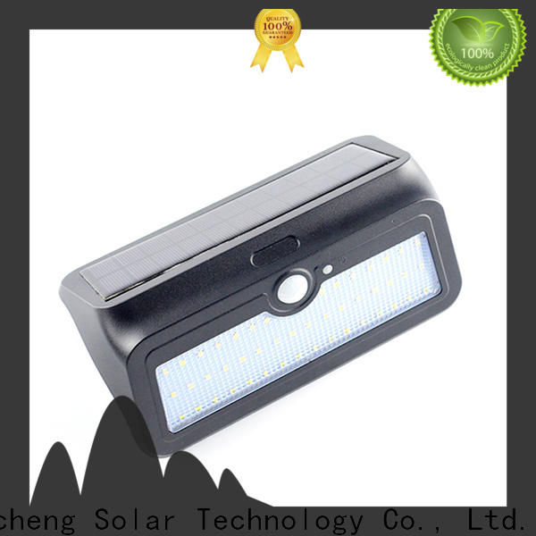 Yucheng outdoor solar wall lights with good price for docks