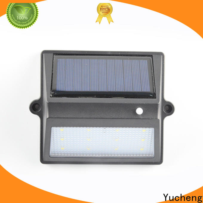Yucheng custom solar fence lights directly sale for outdoor