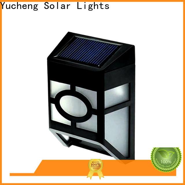 Yucheng best outdoor fence lighting factory price for garden