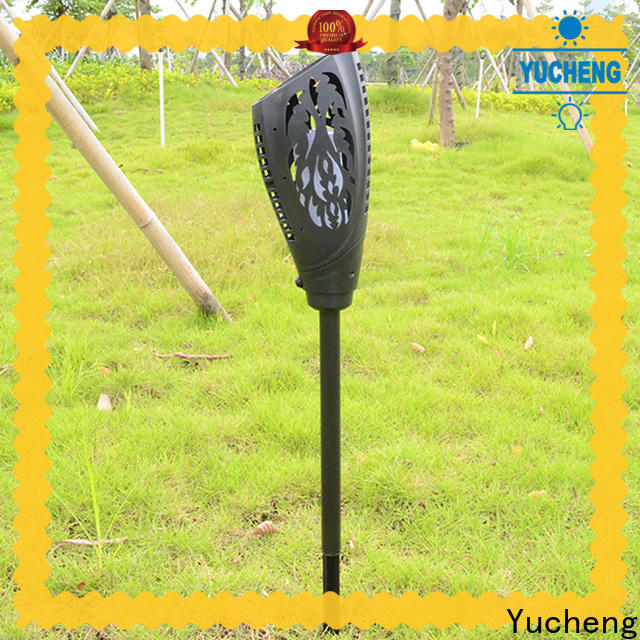 wholesale solar powered flame lights directly sale for home