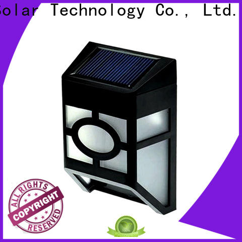 Yucheng solar garden fence lights supplier for home