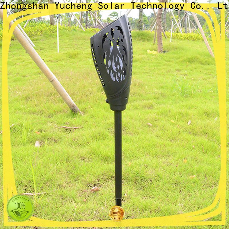 Yucheng solar garden lanterns directly sale for courtyards