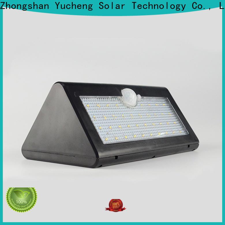 Yucheng solar sensor wall light manufacturer for stair