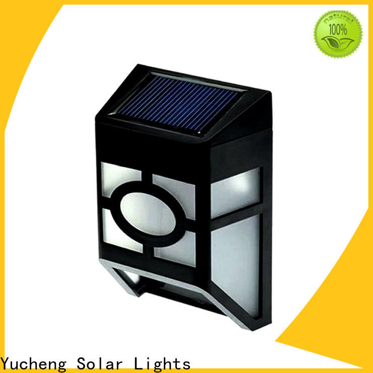 new solar fence lights manufacturer for outdoor