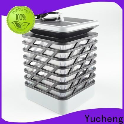 Yucheng solar powered flame lights factory direct supply for home