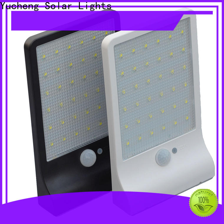 Yucheng solar powered led lights outdoor manufacturer for stair