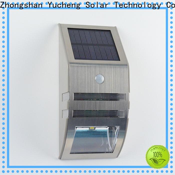 Yucheng solar sensor light series for garden