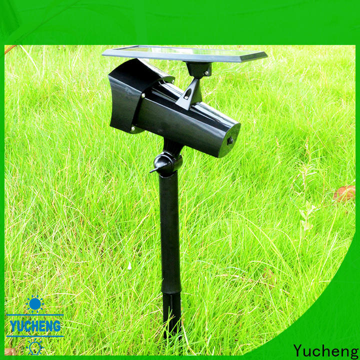 Yucheng custom solar lawn lights manufacturer for garden