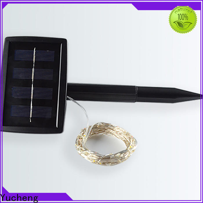 high-quality outdoor solar string lights with good price for trees