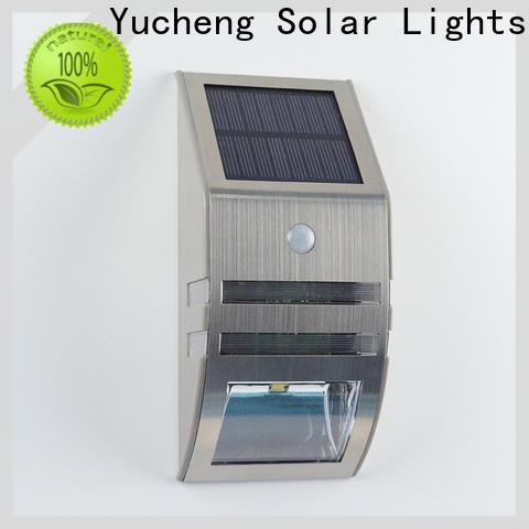 new solar led motion sensor light factory direct supply for docks