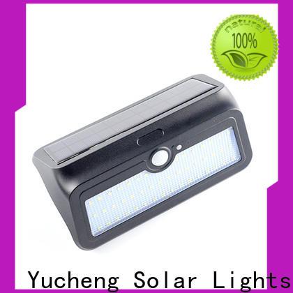 top solar sensor wall light with good price for garden