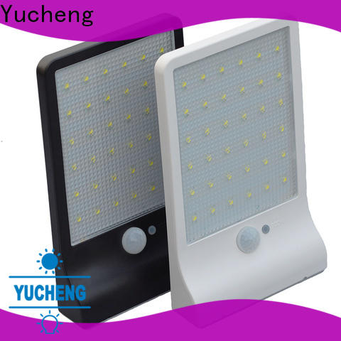Yucheng solar sensor wall light series for stair
